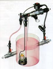 Инжектор для удобрений Amiad.